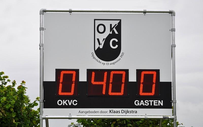 OKVC scorebord met LED display